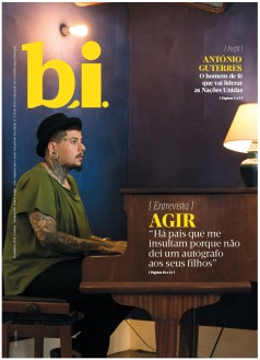 Capa da « : <b>REVISTA bi</b> » do dia « <b>08-10-2016</b> »
