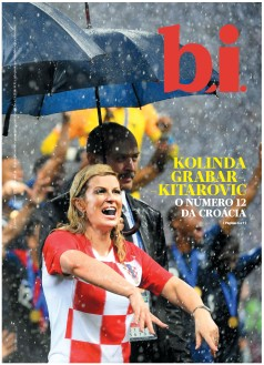 Capa da « : <b>REVISTA bi</b> » do dia « <b>21-07-2018</b> »